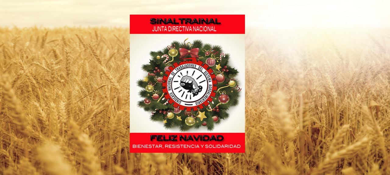 Feliz Navidad | imagen | SINALTRAINAL : : Sindicato Nacional de Trabajadores del Sistema Agroalimentario